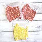 【おおやまとみこ】立体布マスク(冷感・花)・レディースサイズ/マスク