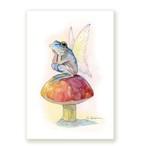 ポストカード カエルの妖精