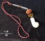 【入魂儀式済ケオン】三位一体★8面ガネーシャ★クリスタルサンキャッチャー(C)
