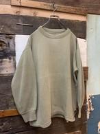 70's hungarian army damege sweat shirt