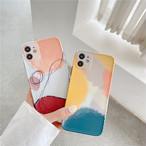 【お取り寄せ商品】iPhoneケース モダン デザイン アート art オシャレ シンプル ユニセックス 741