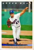 MLBカード 93UPPERDECK Brian Bohanon #380 RANGERS
