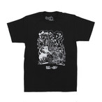 Goods&Supply × Smurfoudirty Collaboration Tee / Black
