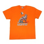"WANNA × VAZVERT  ""Reverse Clockwork"" T-Shirts ORANGE"