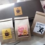 ツキネココーヒー【ギフトセット】100g3セット