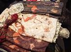 【British Wardrobe】フラミンゴスカート(ホワイト/ワイン/グレー)