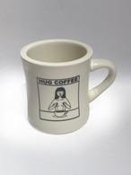 マグカップ hug mug (カラー: ホワイト・チョコ)