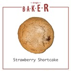 【バレンタイン限定】3枚入ストロベリーショートケーキ(ヴィーガンクッキー)