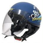 AXS スヌーピー ハーフヘルメット サーフライダー FREE(57-59)