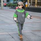 (KIDS)起毛URVDセットアップ セットアップ 子供服 キッズ服 キッズ 韓国ファッション
