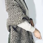 Mexico Wool Stole _02(メキシコ ウール ストール ひざ掛け マルチカバー)