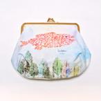 新商品《魚》 ポーチ スイミー レオ・レオニ 帆布がまぐちポーチ