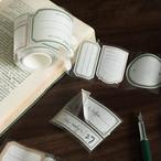 シール ラベル フレーム タグ マスキングテープ素材