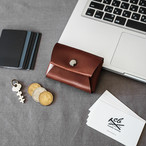 【M size】本革コインケース 一枚革仕上げ Leather Coin Case