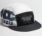 【Hunger Knock】 LOGO JET CAP wh(White)