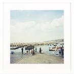 ナポリの小さな小さな漁港