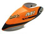 ◆M1キャノピー・オレンジ OSHM1038  (ネオヘリでM1購入者のみ購入可)