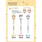 猫ボールペン(ファニーボールペン)全3種類