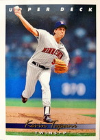 MLBカード 93UPPERDECK Kevin Tapani #313 TWINS