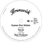 """【RSD/ラスト1/7""""】Hysear Don Walker - Poo-Jo / Dear Prudence"""