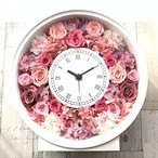 ◆受注制作◆ 花時計 ピンクA