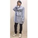 【即納】韓国ファッション Unusual ストライプシャツ
