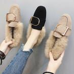 【shoes】とびきり可愛いデザイン寒さ対策シューズ 24515783