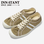 #307 SUEDE SHOES beige/natural (white sole)  INN-STANT インスタント 【消費税込・送料無料】