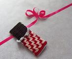 クレジット決済以外も可 お得なセット編み図「板チョコのバネポーチ」&「板チョコのポケットティッシュケース」 印刷物編み図(印刷料・送料込み)