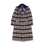 Plaid Tweed Coat | チェック ツイード ショールカラー コート (OR GLORY オアグローリー)
