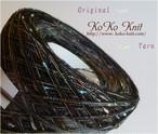 §koko§ 夏祭り~風情~1玉77~88g カラフルネップ、引き揃え糸、毛糸 オリジナル編み糸