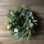 Fresh Green Wreath M-size (〜Φ30cm)