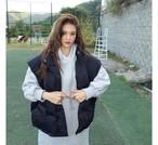 オーバーフィットペディンベスト ペディン ベスト 韓国ファッション