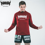 【DRY】MARRION APPAREL DRY LONGSLEEVE (Burgundy)