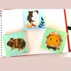 【受注制作】オーダーメイド小動物ミニミニアクリルキャンバス原画
