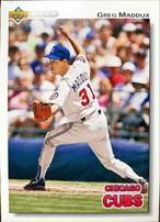 MLBカード 92UPPERDECK Greg Maddux #353 CUBS