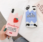 【オーダー商品】Strawberry Milk iphone case