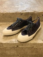 italian navy canvas shoes size/42