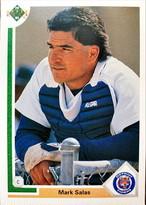 MLBカード 91UPPERDECK Mark Salas #205 YANKEES