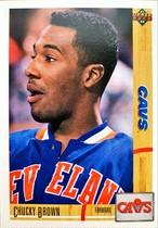 NBAカード 91-92UPPERDECK Chucky Brown #393 CAVS