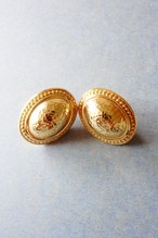 80s vintage earrings dior