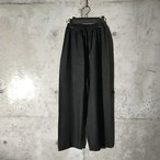[used] black straight pant