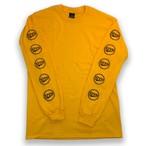 CROWN L/S Tee yellow