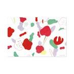 ポストカード【flower pattern】