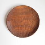ウォールナットのプレート30cm(手彫り)