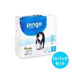 [12パックセット] Pingo プレミアムエコ紙おむつ(サイズ 5)
