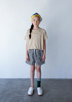 folk made フォルクメイド stones T-shirts color:beige×offwhite size:SS(80-90)~L(125-140)