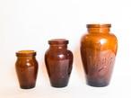 イギリスアンティーク「virol」ガラスボトル Sサイズ(No.30826)
