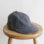 HICOSAKA【 mens 】techtweed 8panel cap