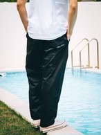 ThreeArrows刺繍Easy pants (black)